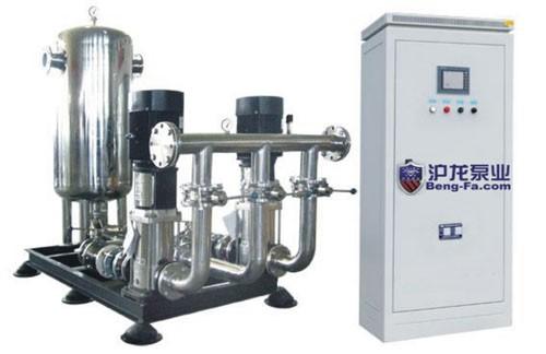 沪龙变频调速无负压给水设备