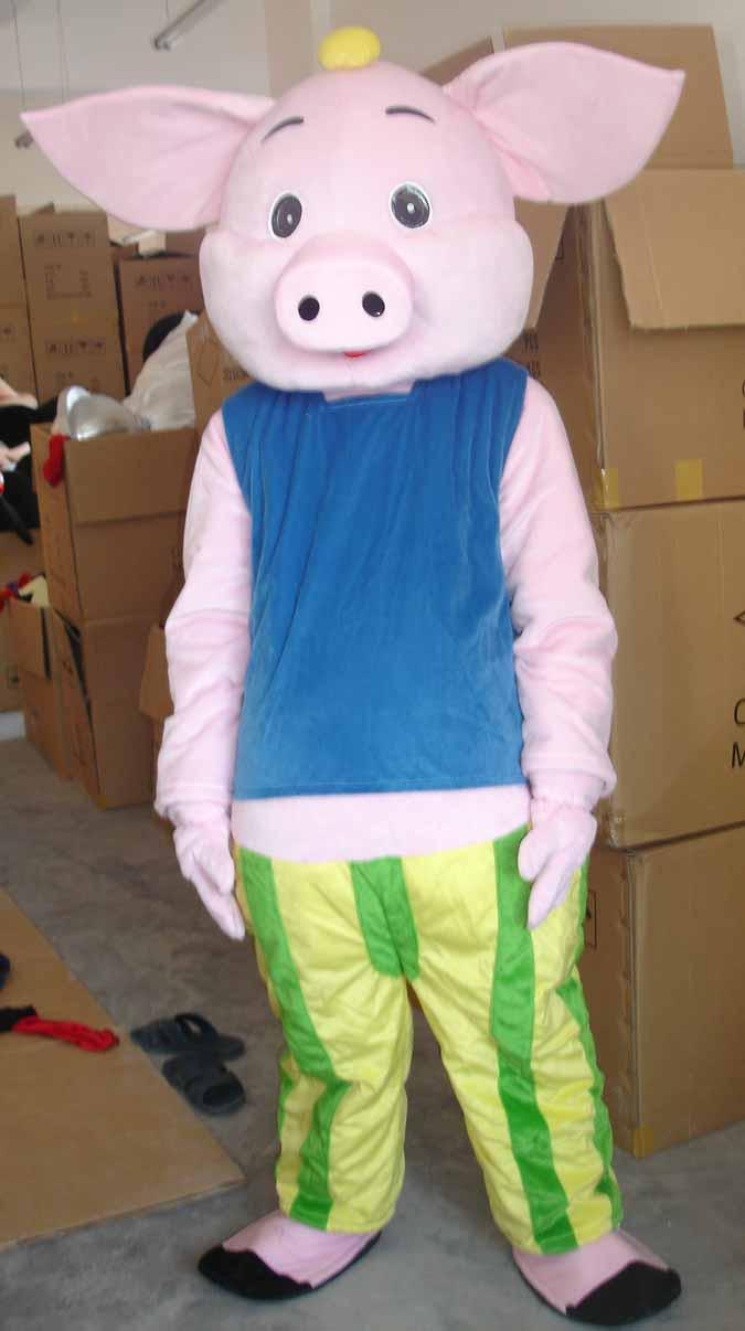 卡通人偶/动物卡通舞台表演服装可可猪