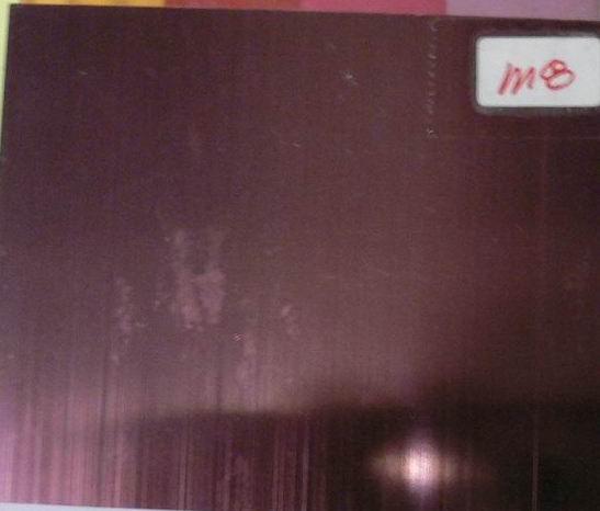 彩色不锈钢天花板,砂光不锈钢紫红色花板