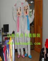 喜羊羊/卡通表演服装/动漫行走人偶服饰/婚庆卡通服装/动漫人偶服