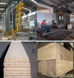 重竹地板、竹丝板压机生产设备