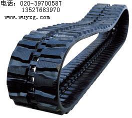 小松45,55,60,75UU挖掘机橡胶履带,橡胶履带板,块