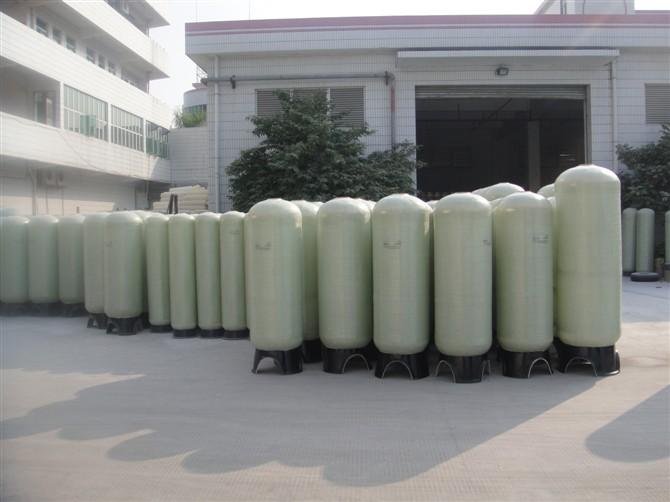 供应水处理设备配件批发,玻璃钢树脂罐等等