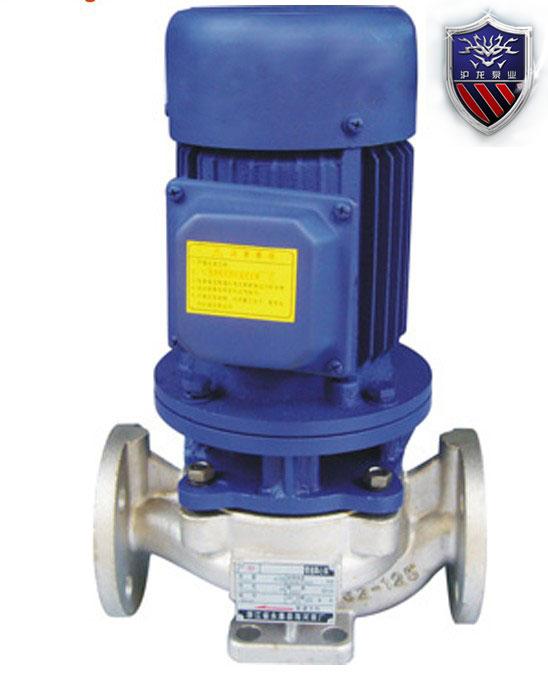 IHG型立式管道化工泵-浙江沪龙水泵厂