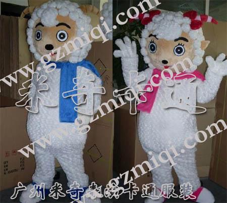 卡通服装/广告卡通/动漫服装/喜羊羊