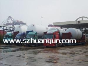 海运特种柜特种箱超高框架箱开顶箱平板箱拖车运输