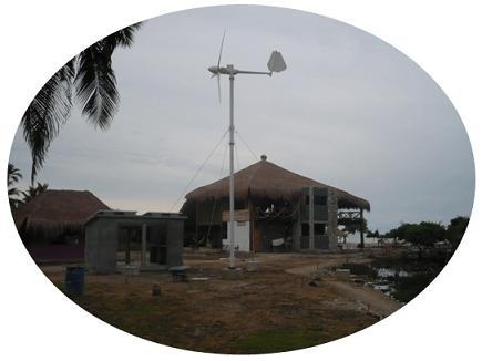 家用小型风力发电机3KW