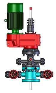 偏置式螺杆泵采油机