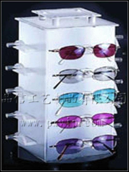 供应上海有机玻璃眼镜展示架,压克力眼镜托架,亚克力眼镜陈列架