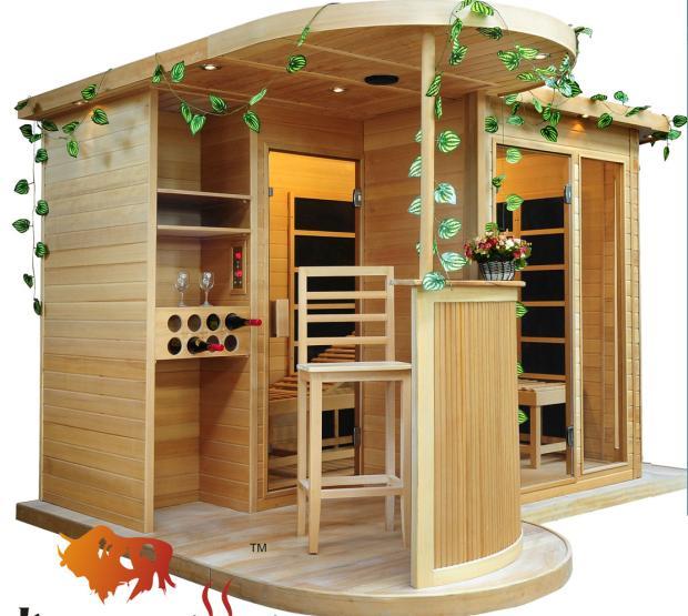 供应生物频谱能量屋  家用托玛琳电气石汗蒸房 光波浴房