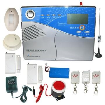 小区安防系统,城市联网报警,总线制报警器,电话看家