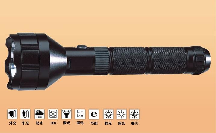 大功率LED强光手电