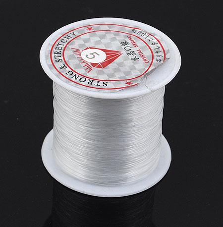 TPU水晶弹力线   透明弹力线(穿手链项链串珠用的配件 )