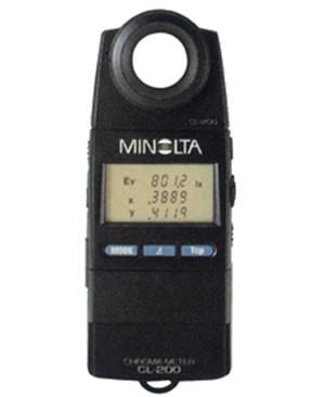 美能达色温照度计CL-200  色度计