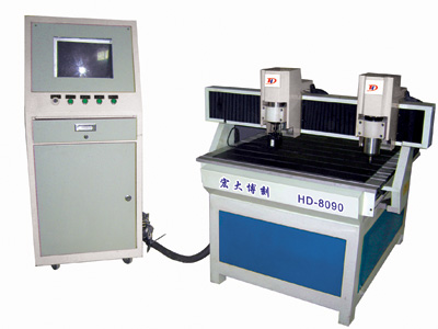 HD-8090三维双头浮雕雕刻机