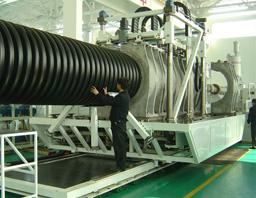 ZC-1500H PE 塑料波纹管生产线