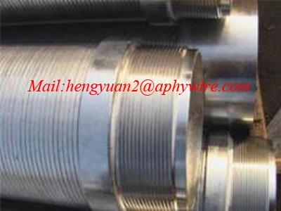 不锈钢V型绕丝筛管,水泵过滤筛分滤筒,约翰逊网管
