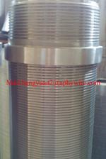 镀锌焊接头绕丝筛管,不锈钢滤水管,钻井用绕丝过滤管