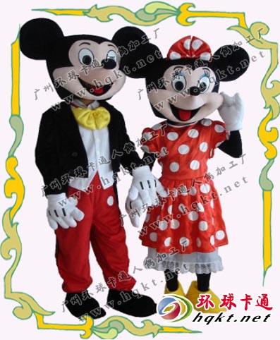 供应卡通人偶服装/舞台服装/米老鼠