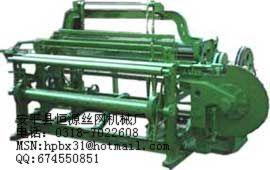 轧花网机(矿筛网机)