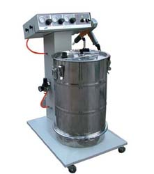 供应暖气片用粉末喷涂设备,高档暖气片静电喷塑机