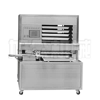 月饼主动排盘机(月饼机生产线、月饼摆盘机)
