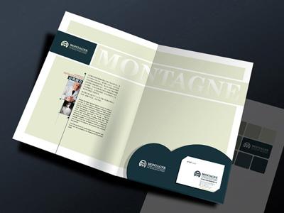 异形企业画册设计欣赏