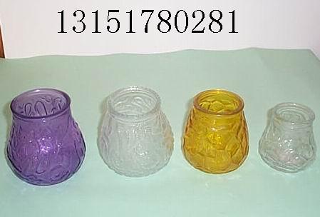 玻璃蜡烛台,蜡烛台玻璃瓶,蜡烛罐,蜡烛杯生产厂