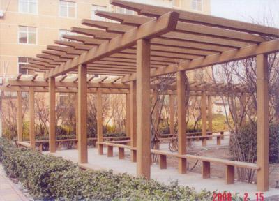 淄博馨苑园林景观供应仿木栏杆