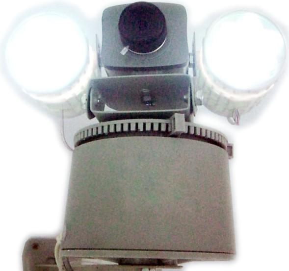 网络摄像机防盗报警二合一体机