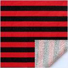 色织彩条毛圈布