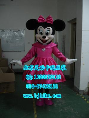 出售北京灵动卡通服装,毛绒人偶服装,米妮