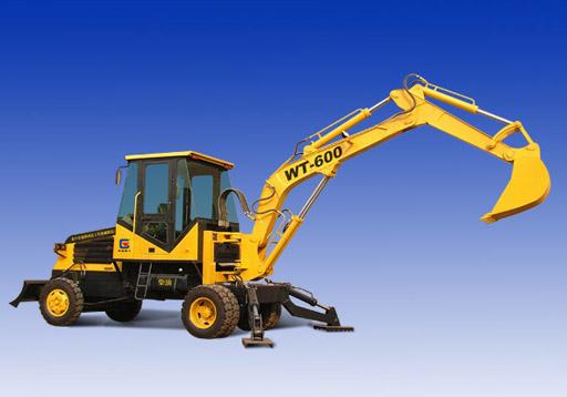 供应WT-600型轮胎液压挖掘机
