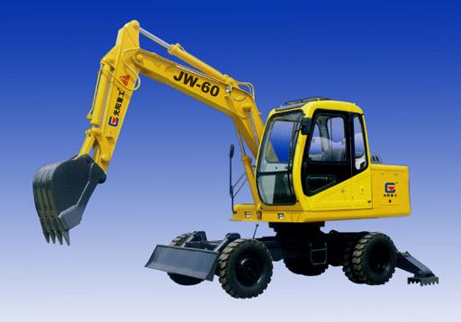 供应JW-60型轮式液压挖掘机