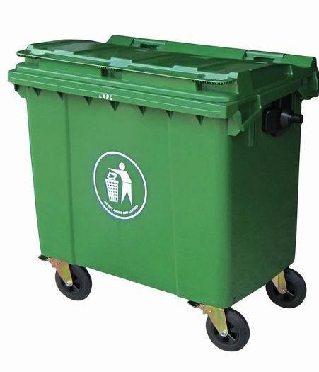 供应珠海深圳香洲中山江门广州660升塑料垃圾桶