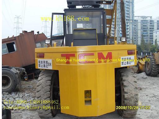 转让25吨叉车,966E装载机,日立挖掘机EX00WD