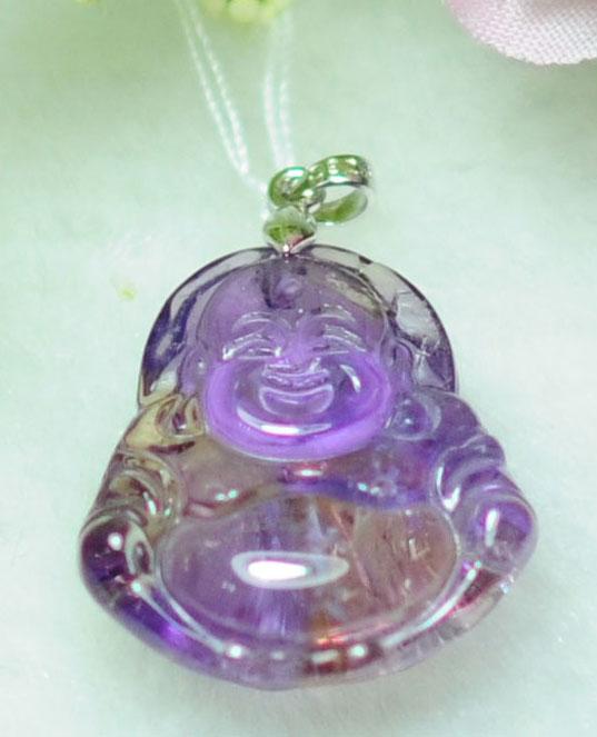 东莞天然紫黄晶水晶