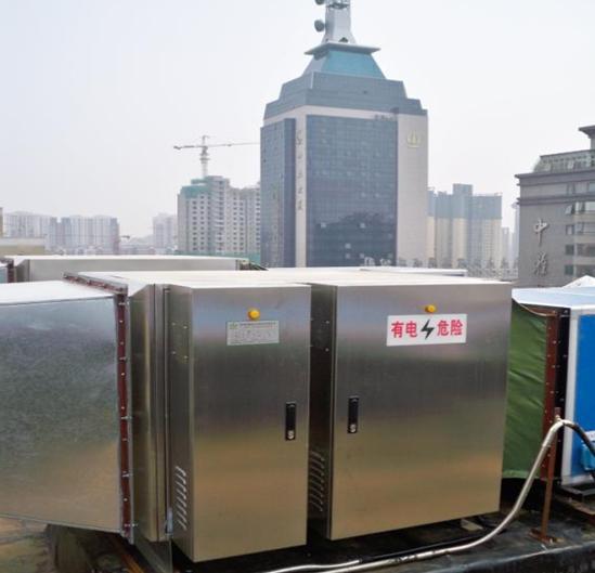 TiO2光解催化氧化泵站废气臭气处理