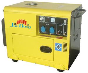 2-6KW小型柴油静音发电机组