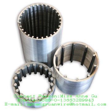 不锈钢楔形绕丝筛管/全焊式绕丝筛管/V型绕丝筛管/条缝筛管