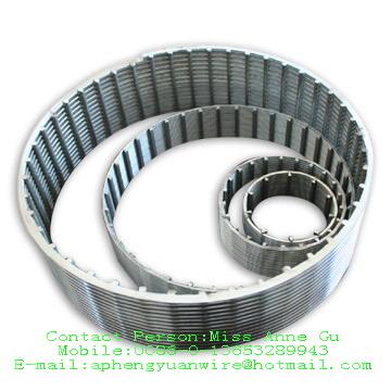 镀锌楔形绕丝筛管,全焊式绕丝筛管