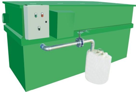 玻璃钢自动隔油器