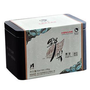 世博特制黑茶 湖南野尖安化黑茶 茯砖颗粒茶 听装