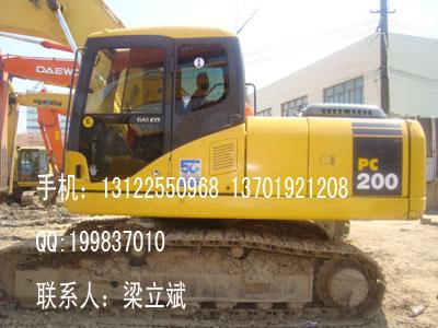 出售二手小松PC200系列挖掘机