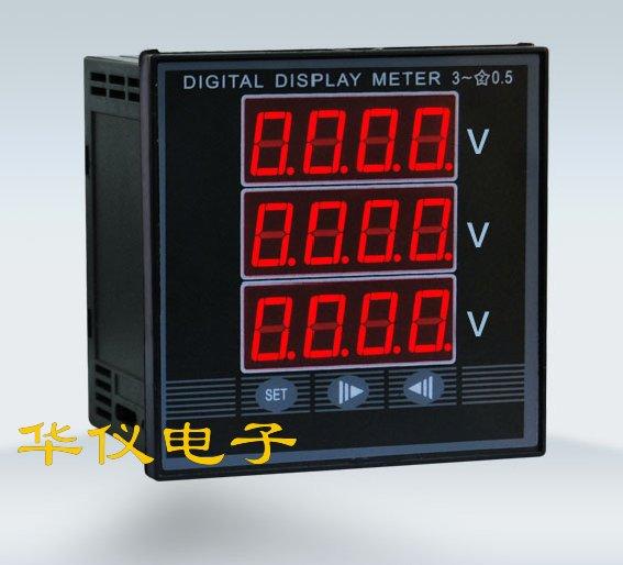 PD999U-3K4三相电压表