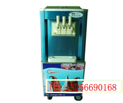 山东冰激凌机加盟 冰淇淋机加盟 多色冰激淋机