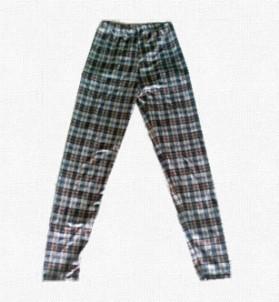 批发供应超修身热卖打底裤九分裤 格子图案打底裤批发