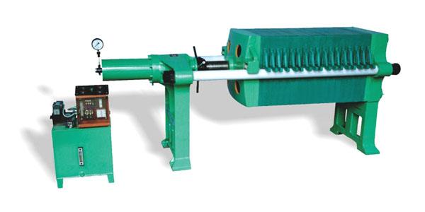 板框压滤机 液压螺母锁紧图片
