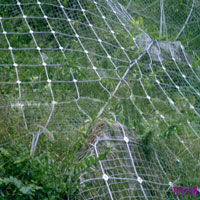 柔性拦石网-拦截式被动防护系统