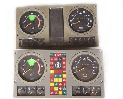豪沃t7仪表指示灯图解